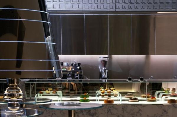 hotel luxuriös mira hong kong modern ambiente küche restaurant