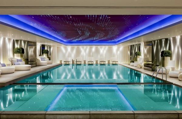 hotel luxuriös mira hong kong sofa wellness center pool