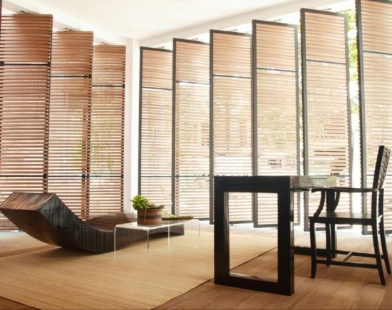 hotel schlicht einrichtung the library minimalistisch interior