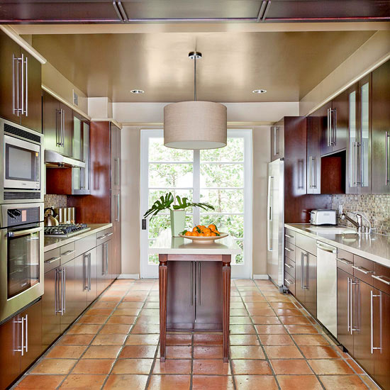 Tiling Around Existing Kitchen Cabinets