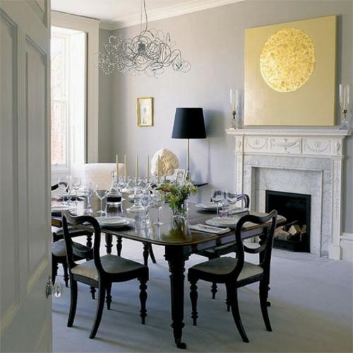 20 Gray And Yellow Nursery Designs With Refreshing Elegance: Inneneinrichtung In Schwarz Weiß
