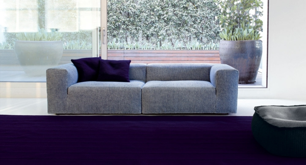 inspirierendes interior design paola lenti atollo sofa blumentopf