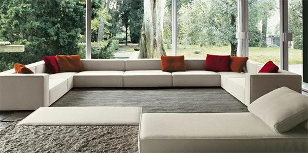 inspirierendes interior design paola lenti atollo sofa