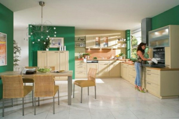 arctar | grüne küche wandfarbe, Möbel