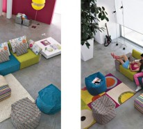 Interieur Design von Linea Italia – coole Ideen mit modularem Sofa