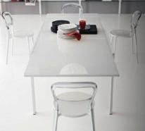 Modernes Interieur Design im Wohnzimmer – tolle Ideen von Calligaris
