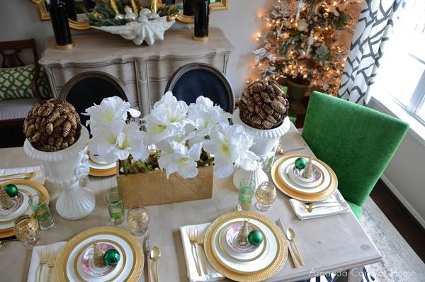 interior design in smaragdgrün akzente polterstuhl