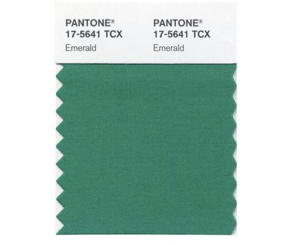 smaragd grün einrichtung pantone nummer