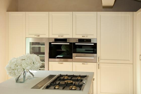 Italienisch Design Küche Edel Weiß Holz Massiv Arthesi Grace M