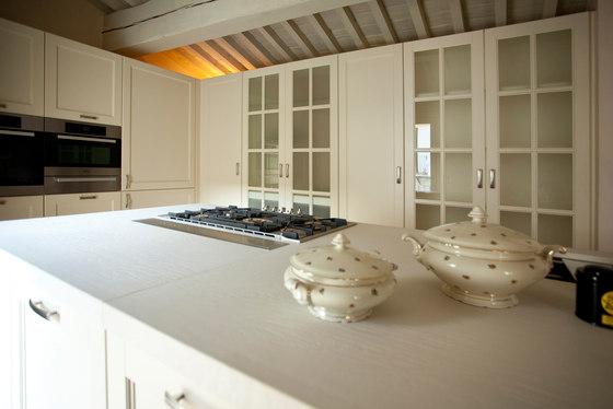 Schön Italienisch Design Küche Weiß Holz Massiv Arthesi Grace M Klassisch
