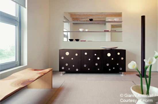 designer esszimmer m bel aus holz kollektion von toyo ito f r horm. Black Bedroom Furniture Sets. Home Design Ideas