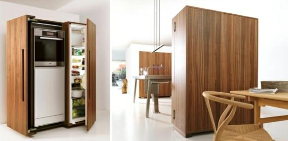 Küche Einrichtung Regal Kühlschrank Bulthaup B2