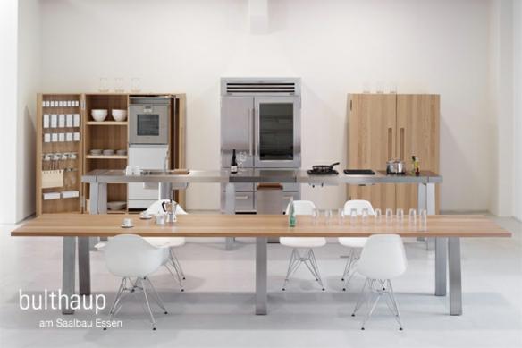 Küche Einrichtung Regal Tich Holz Bulthaup B2