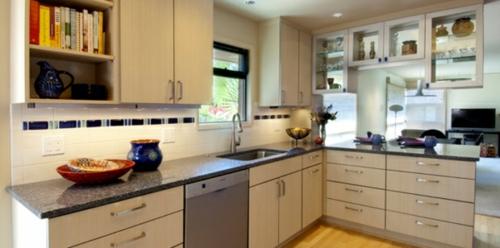 Moderne küchen mit halbinsel  Kücheninsel und Halbinsel gestalten - praktische Ideen