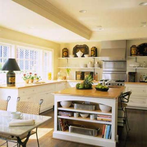 küchen mit vielen fenstern Komfort zu Hause