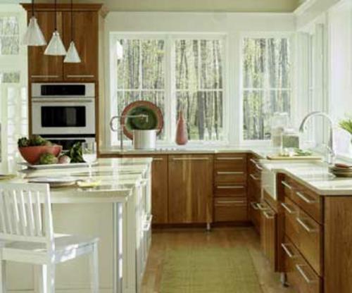 küchen mit vielen fenster Natürlich schön