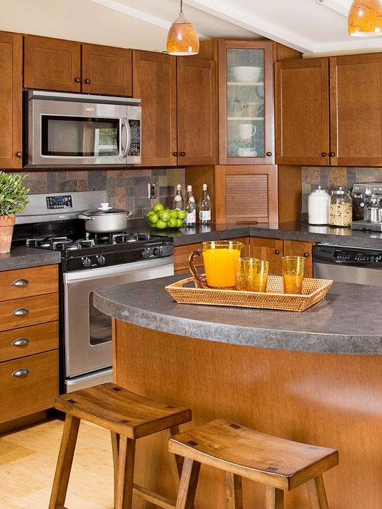 küchenbereich hoch modern elegant kompakt kochfeld