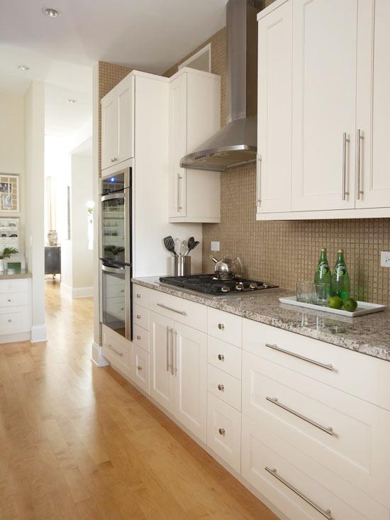 küchenbereich hoch modern elegant schmal