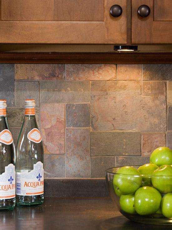 küchenbereich hoch modern küchenarbeitsplatte