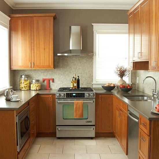 küchenbereich holz ausstattung u förmig