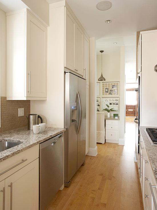 küchenbereich multifunktional weiß modern küchengeräte