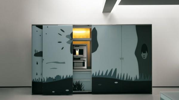 küchendesign architektonisch valcucine idee stilvoll