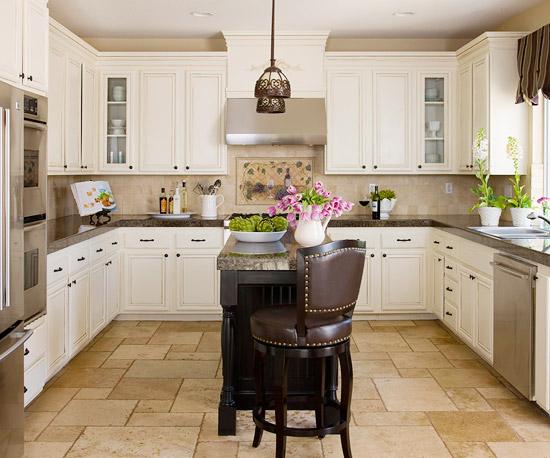 kücheninsel ideen klein raum leder elegant