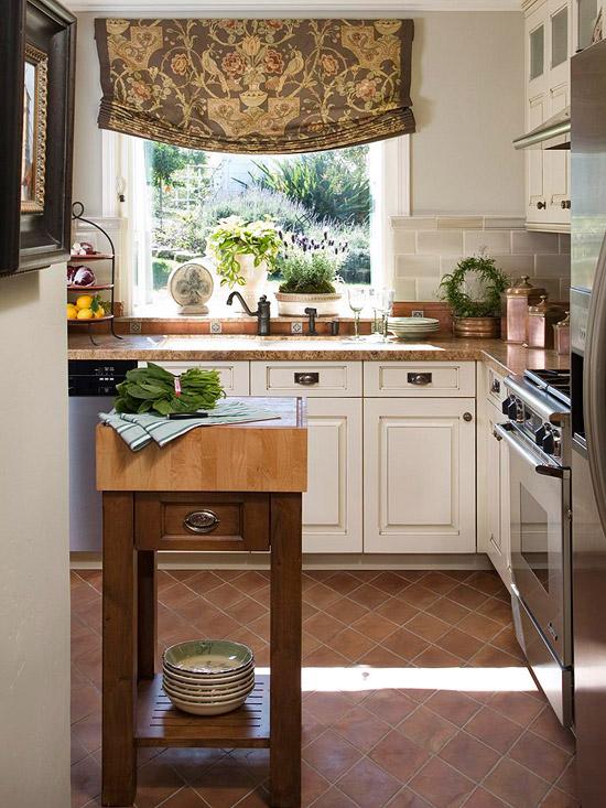 kücheninsel ideen klein raum mobil