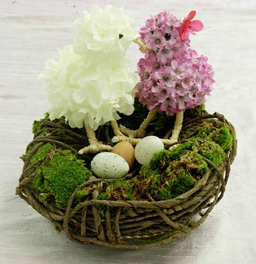 Anspruchsvoller Deko Akzent zu Ostern selber basteln