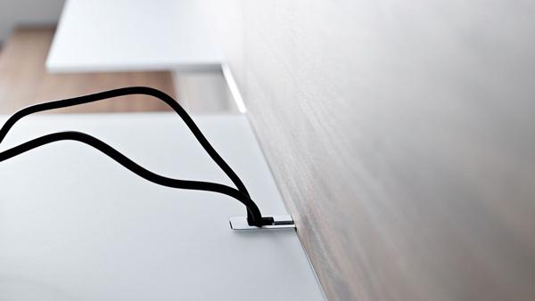kabel schwarz textur glanzvoll idee design wonhzimmer