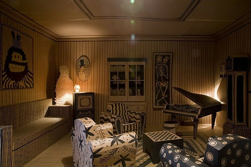 pappe deko vorschlag zimmer originell nachttisch wunderschön idee