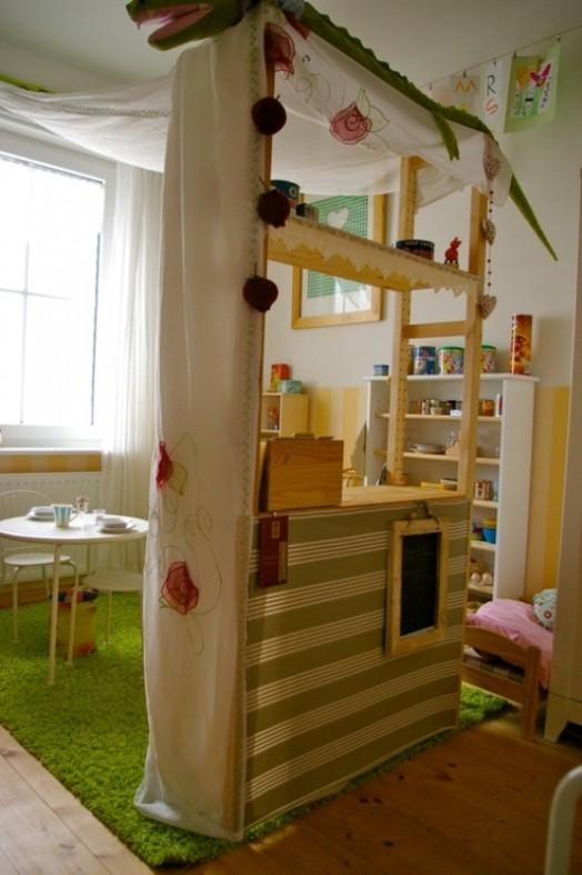 kinder spielplatz zu hause basteln - 20 lustige ideen, Schlafzimmer design