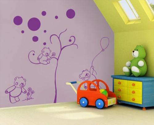 Designer Tapeten Im Kinderzimmer Kindertraumwelten