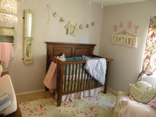 Vintage Deko Wohnzimmer : Kinderzimmer einrichtung vintage akzente einsetzen