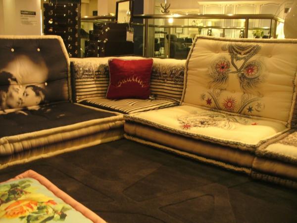 kissen sofas designer lösung