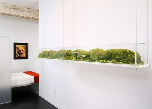 gr ner garten im innenraum 10 erstaunliche beispiele. Black Bedroom Furniture Sets. Home Design Ideas