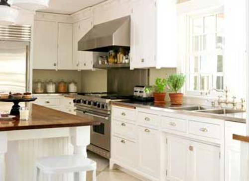 knackig altmodische küchen design weiß schränke glas gewürze