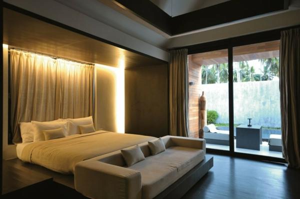 schlafzimmer design hotel thailand  rezeption gemütlich