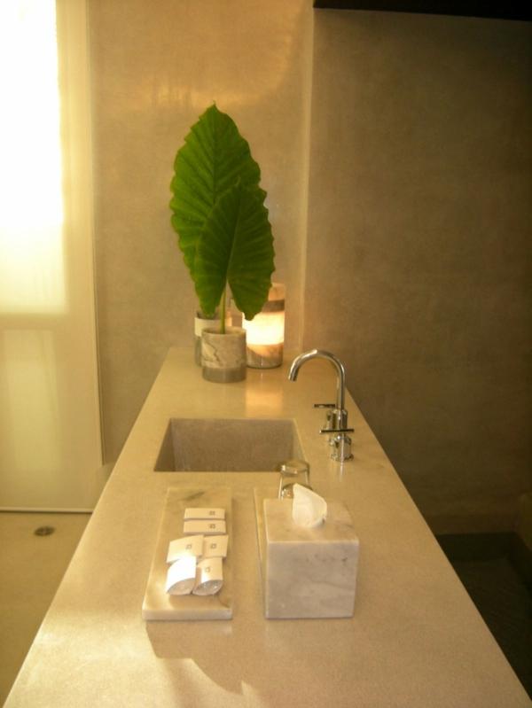 badezimmer hotel design thailand waschbecken bad