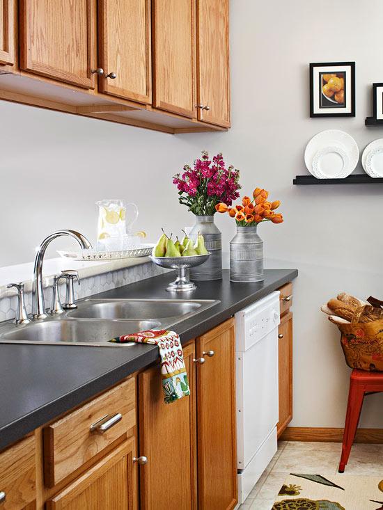 kompakte küchen oberfläche wertvoll spülbecken