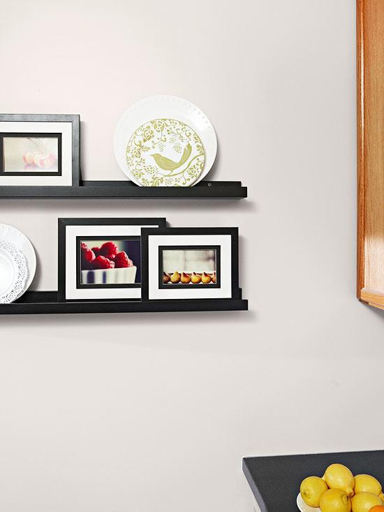 kompakte küchen weiß küchenregale schwarz