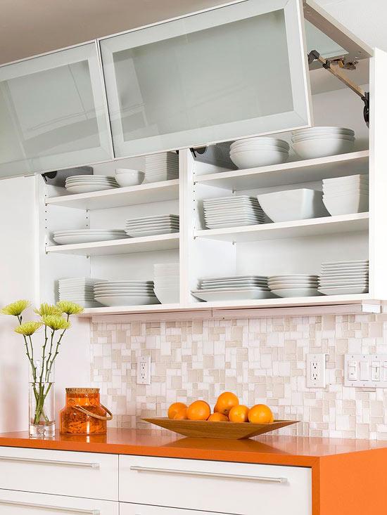 kompakte küchen weiß regale küchenschrank