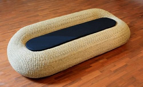korbmöbel onyx rattan sofa hoola loop