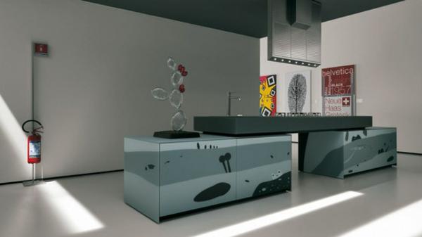 kreatives küchen design valcicune extravagant kompakt funktionell
