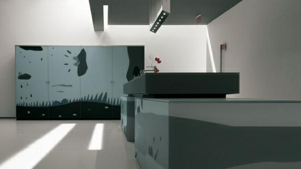 kreatives küchen design valcicune küchenarbeitsplatte