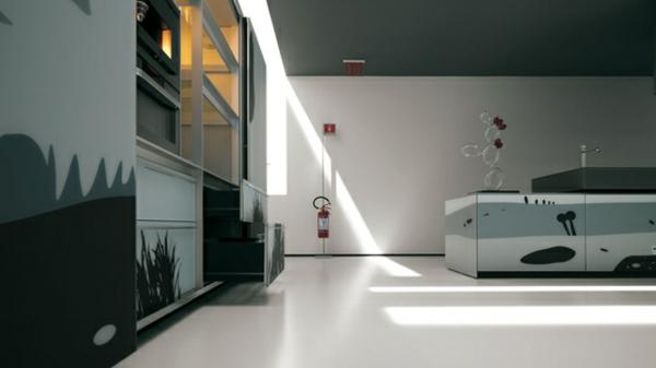 kreatives küchen design valcicune minimalistisch