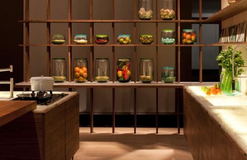 Küchen regale holz  Chestha.com | Küchenschrank Regal Design