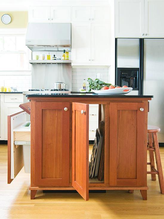 Lagern Aufbewahren Küchenschränke Holz Klein Raum Kücheninsel ...
