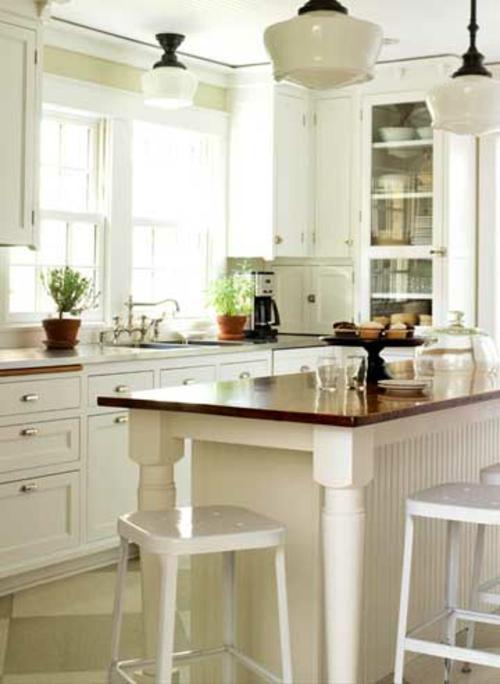 landhaus esstisch kücheninsel altmodisch
