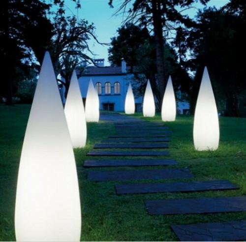Lichtinstallation Im Garten Romantische Angenehme Abende Da Geniessen